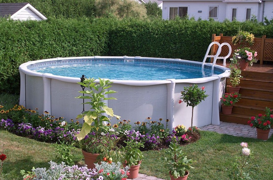 above ground fiberglass pools - Above Ground Fiberglass Swimming Pools