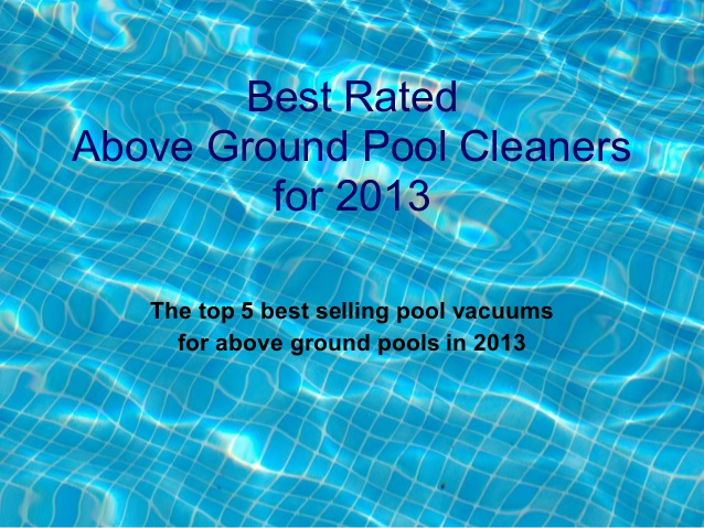above-ground-pool-cleaners