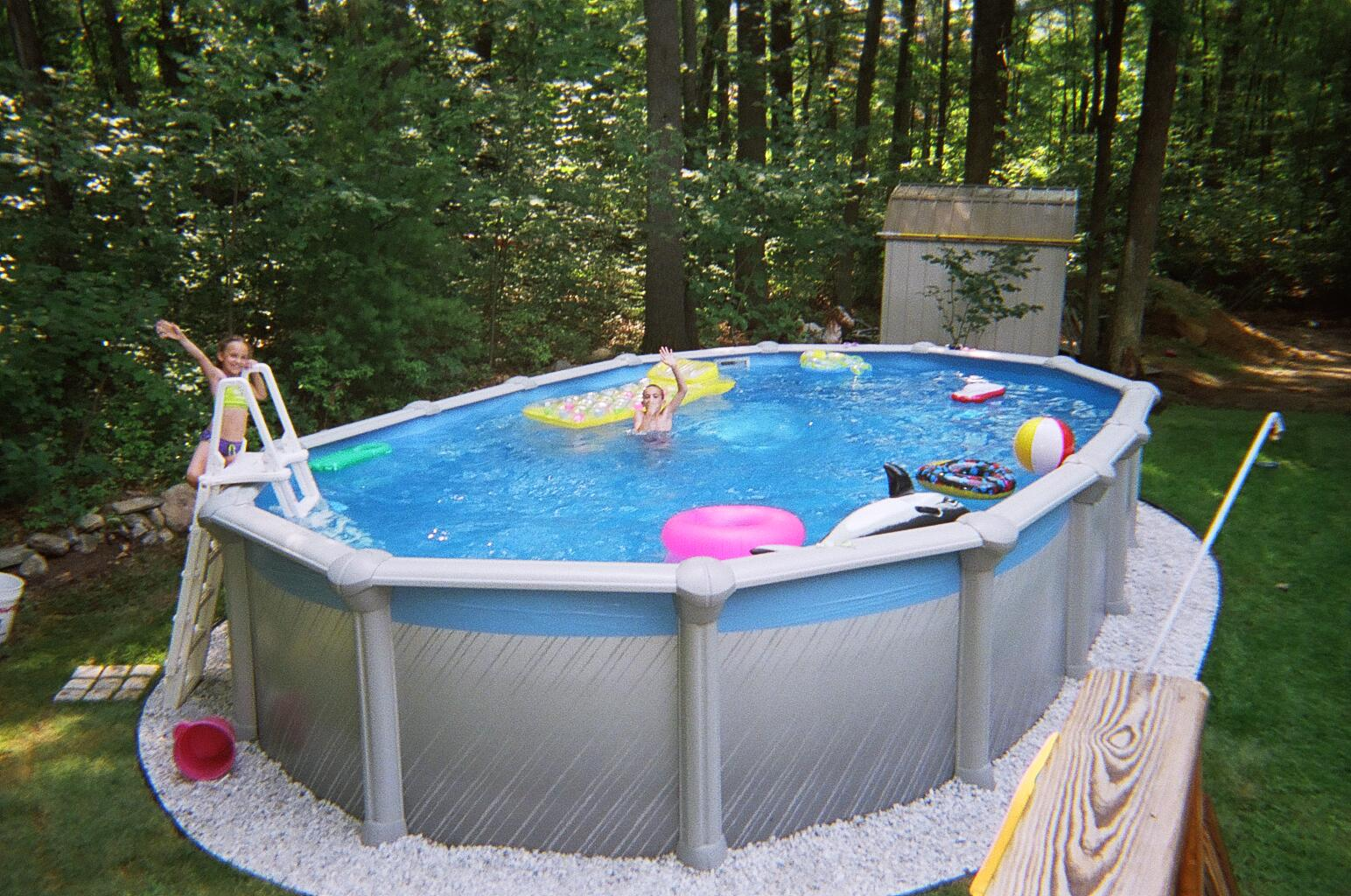 Intex Pool Fence