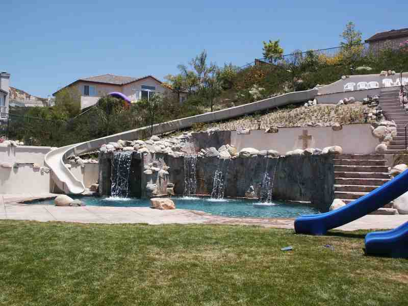 Discount Inground Pool Slides Swimming Pools Photos