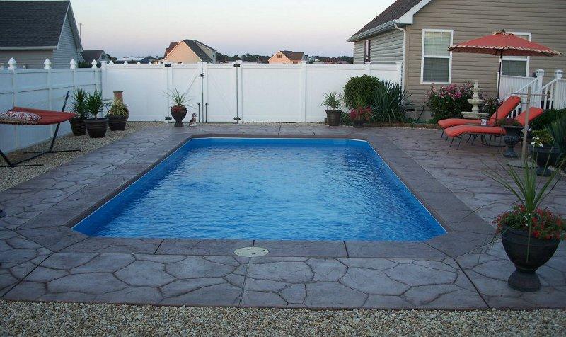 foto inground pools installed