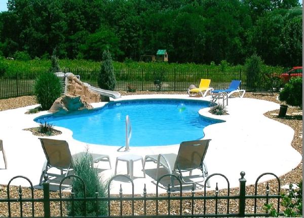 foto inground pools kits