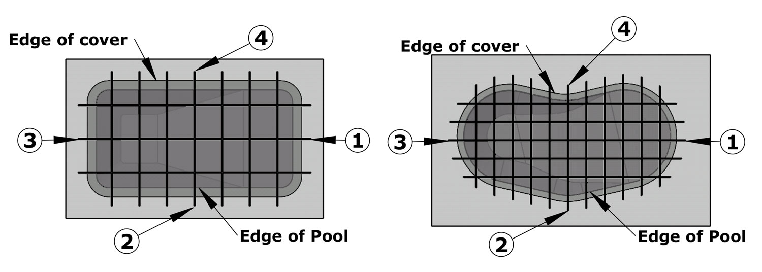Inground Pool Cover Anchor Swimming Pools Photos