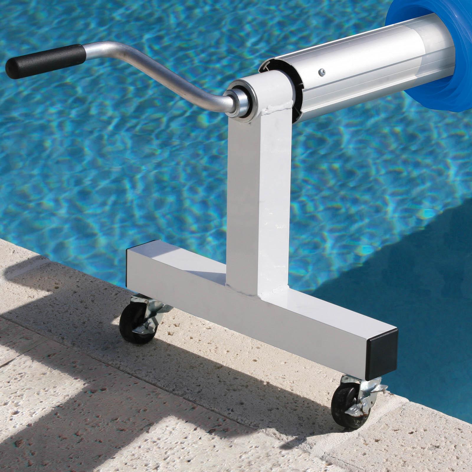 inground pool cover reels