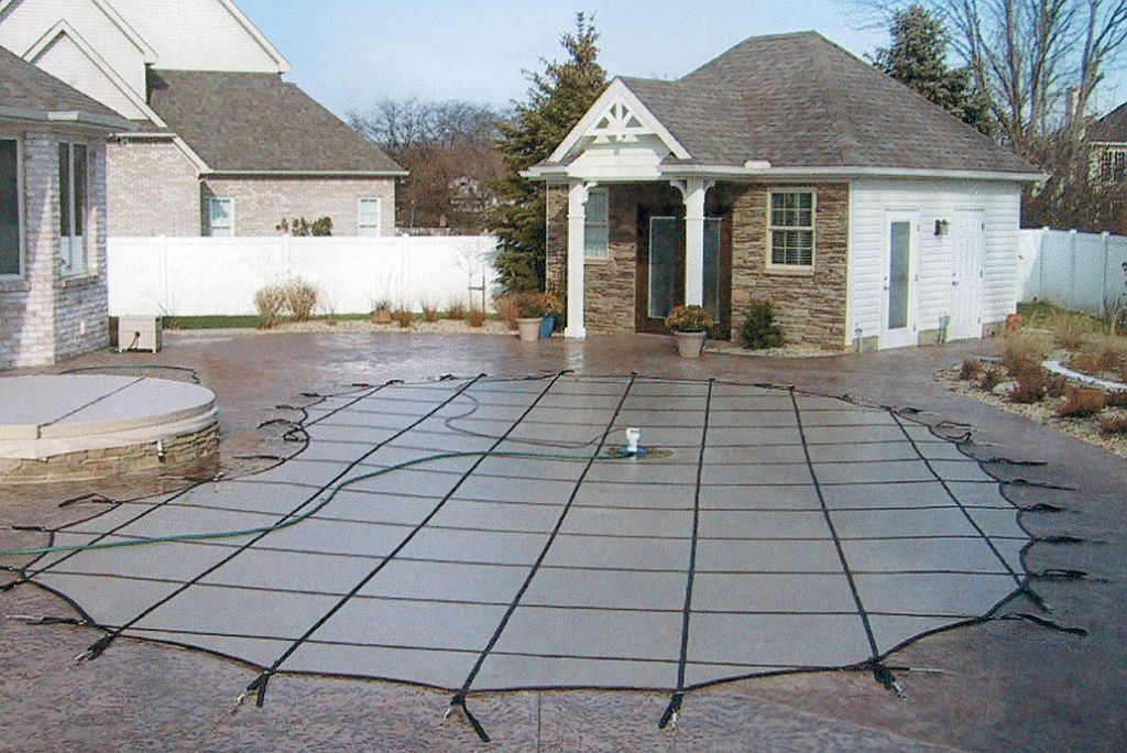 inground pool cover springs