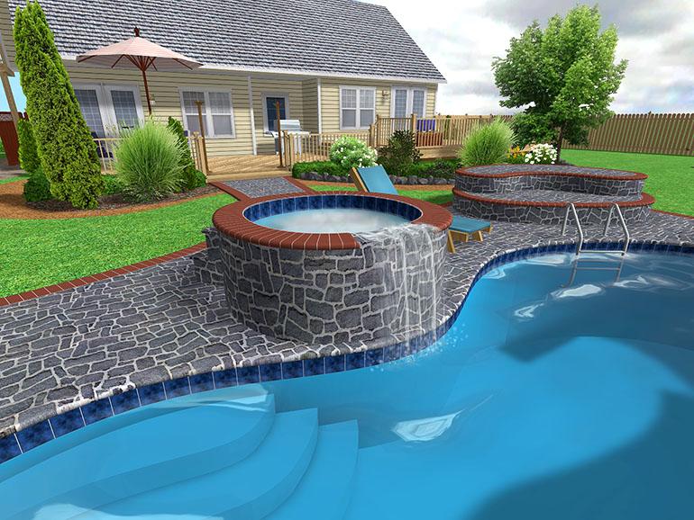 inground pool designs