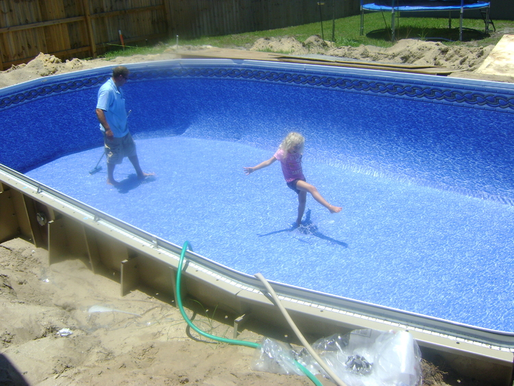 Inground pool kits financing swimming pools photos for Above ground pool decks tulsa