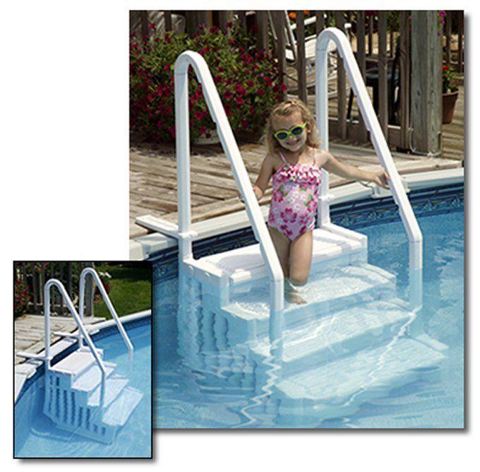 inground pool ladders accessories