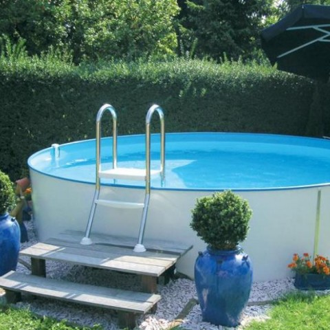inground pool ladders handrails