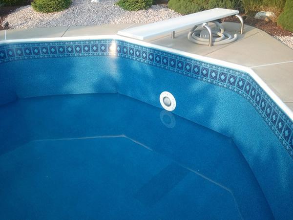 inground pool liner coping