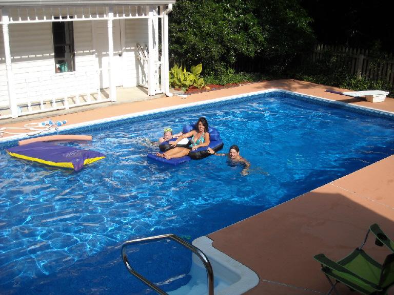 Inground Pool Liner Swimming Pools Photos
