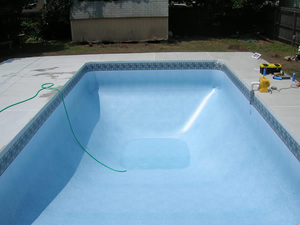 inground pool liners installation