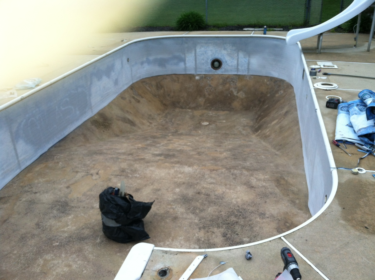 Inground Pool Liners Replacement Swimming Pools Photos