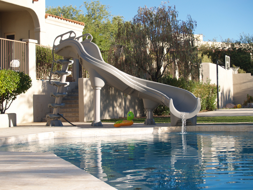 inground pool slides and accessories