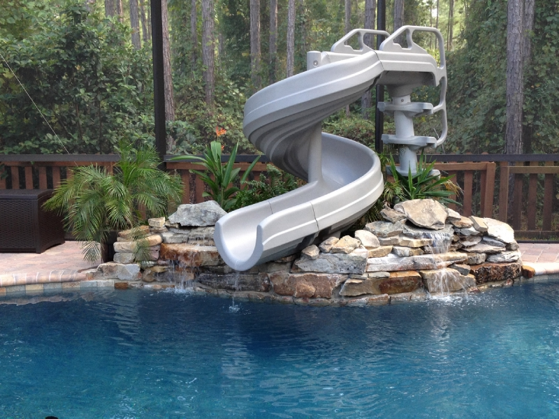 inground-pool-slides-parts