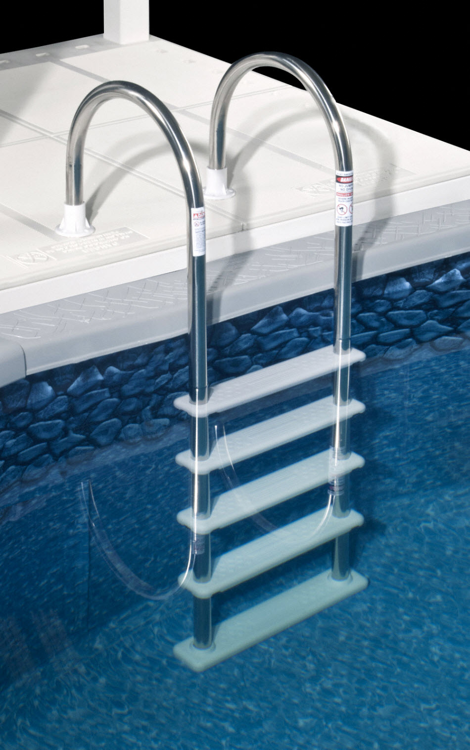 inground pool steps and ladders
