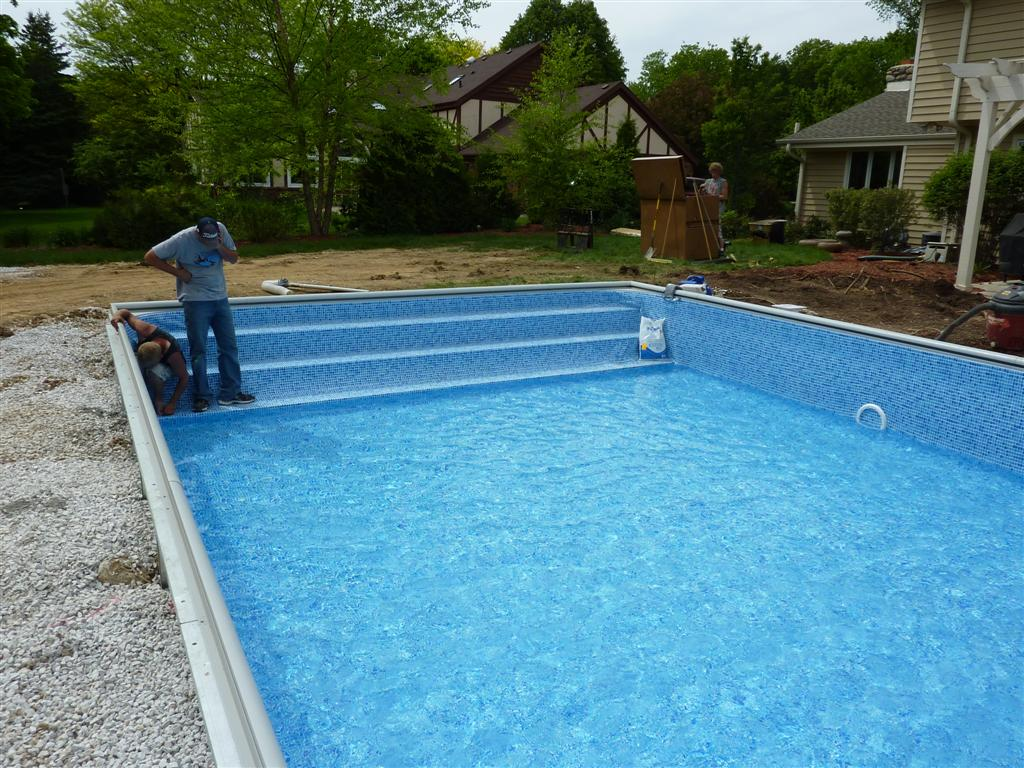 Steps Swimming Pools Photos