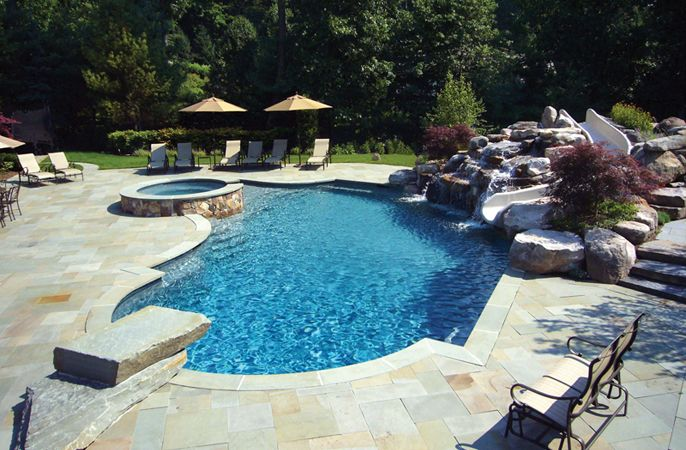 inground pools for pic