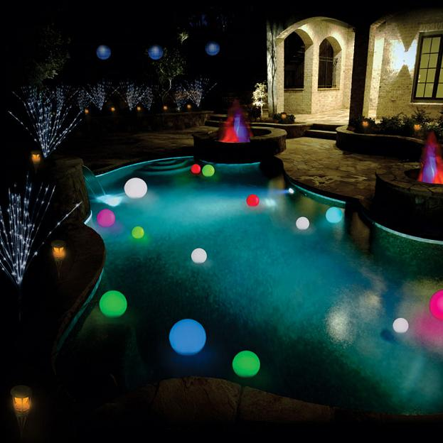 Inground Swimming Pool Lights Swimming Pools Photos