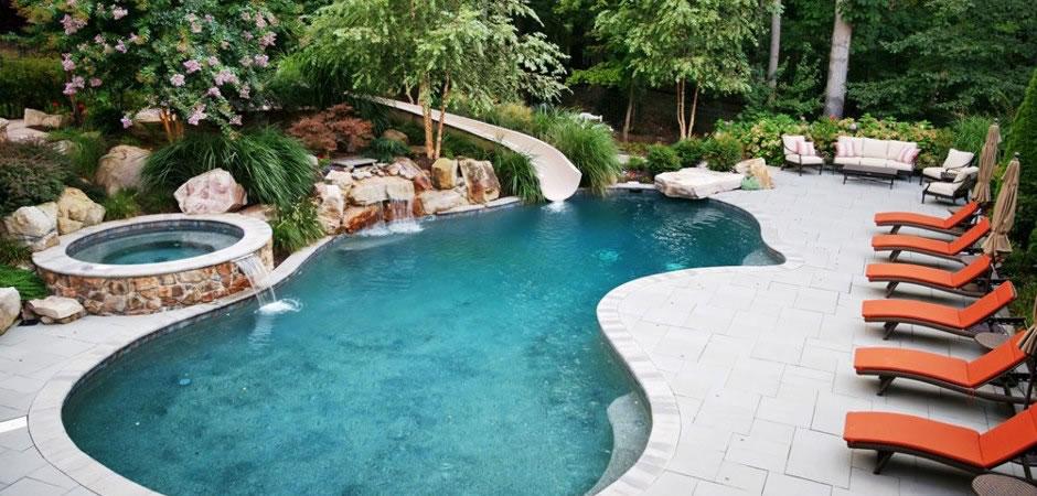 Inground Pools In Northern Indiana Swimming Pools Photos