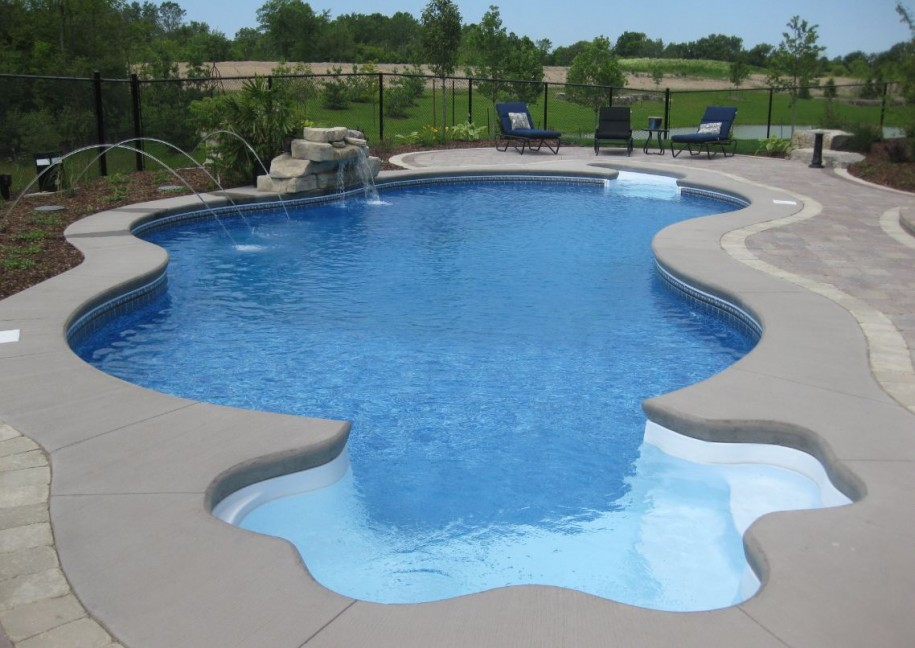 inground swimming pools photo