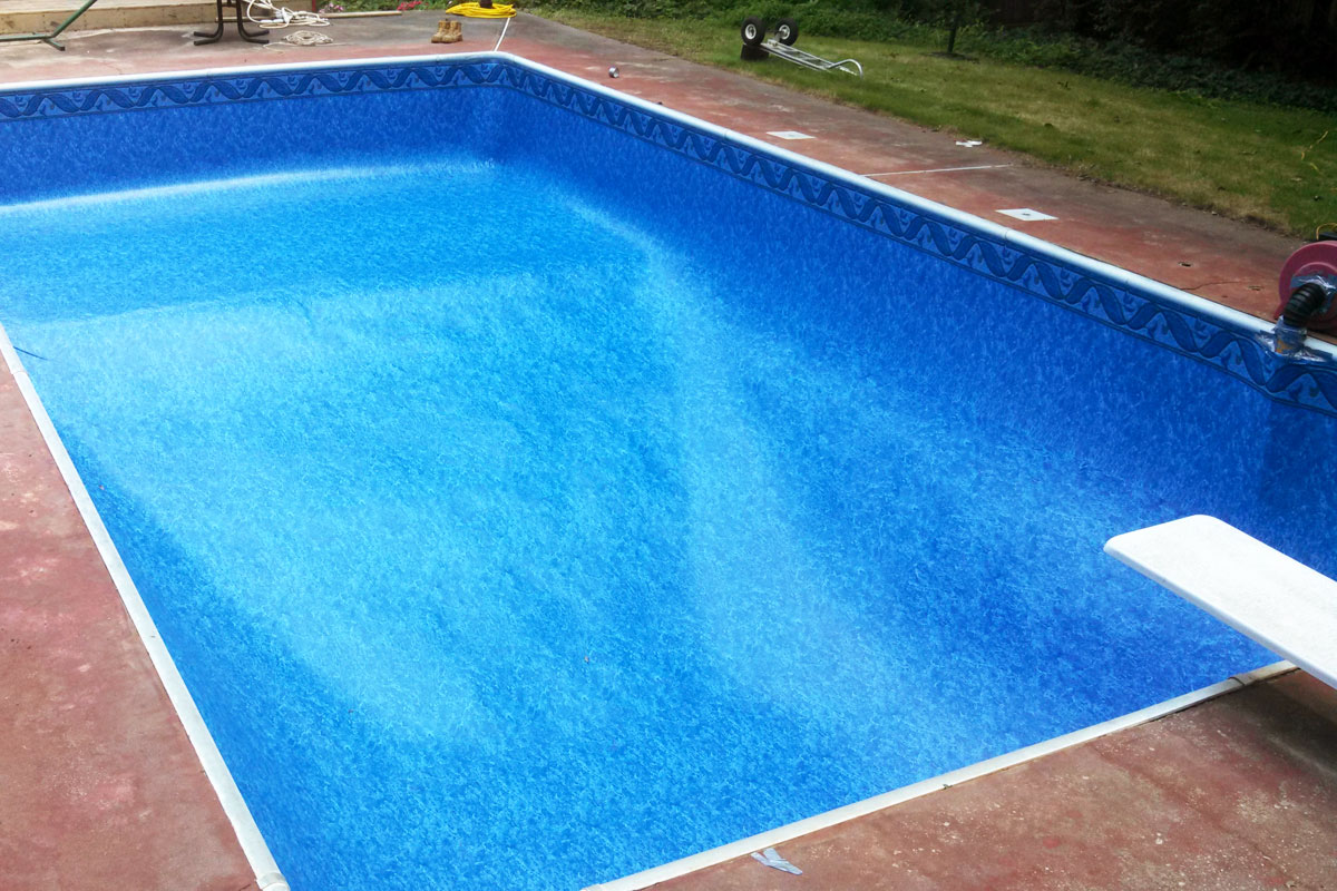 Liner swimming pools photos - Witte pool liner ...