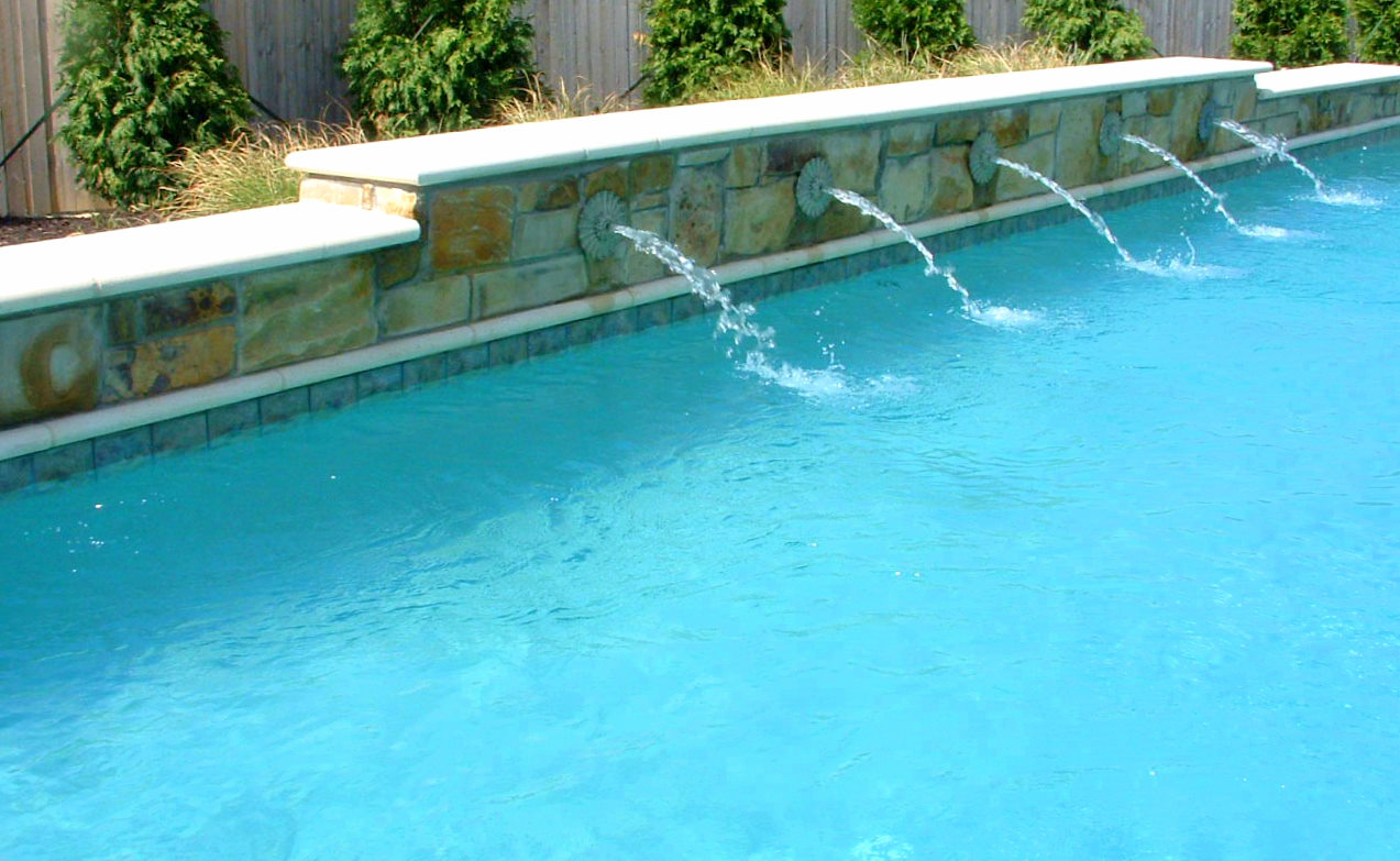 Pool Water Features Swimming Pools Photos