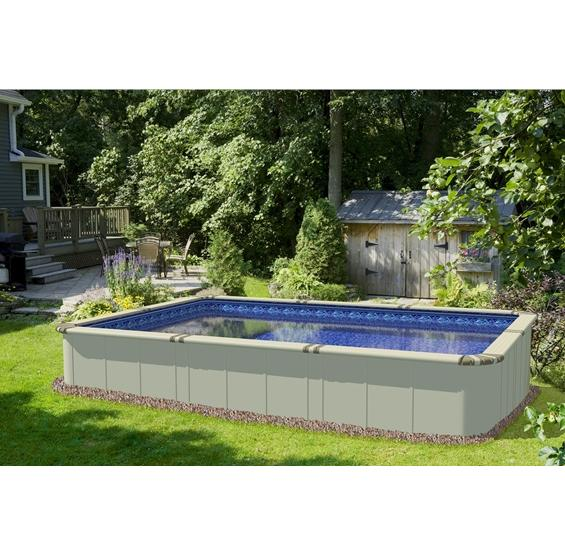 Rectangle Above Ground Pool Swimming Pools Photos