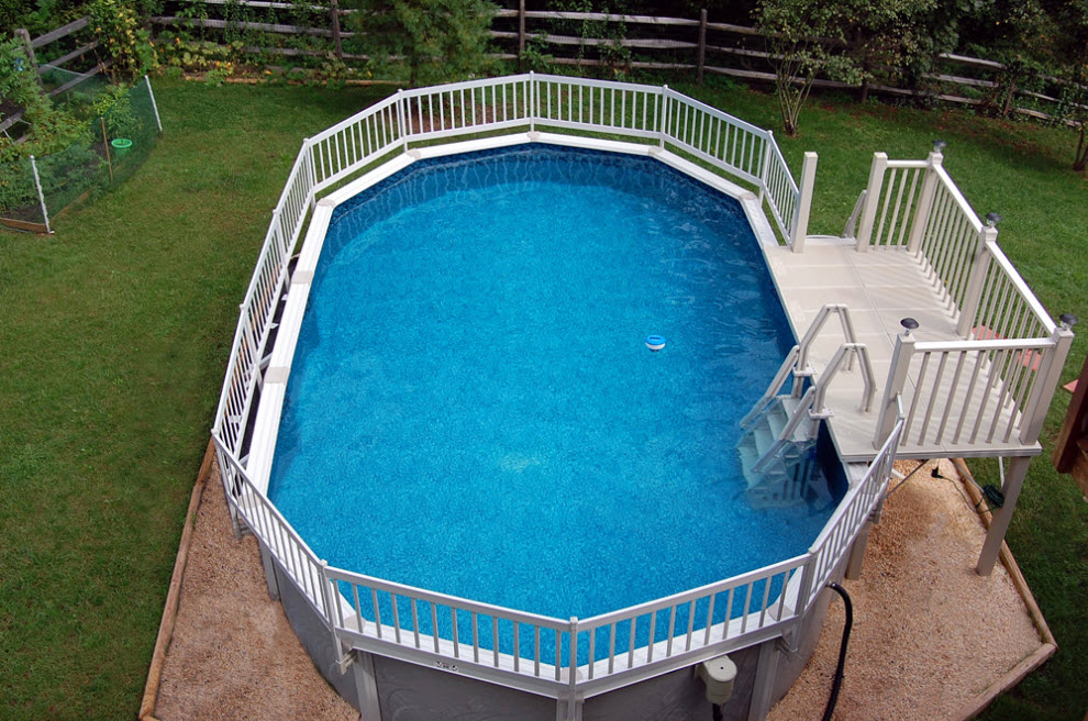 Rectangle Above Ground Pool above – page 4 – swimming pools photos