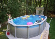 above ground pools clearance