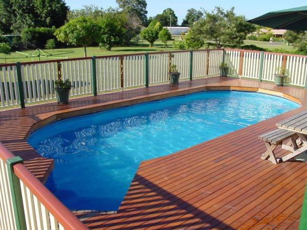 above ground pools installed