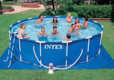 above ground pools intex