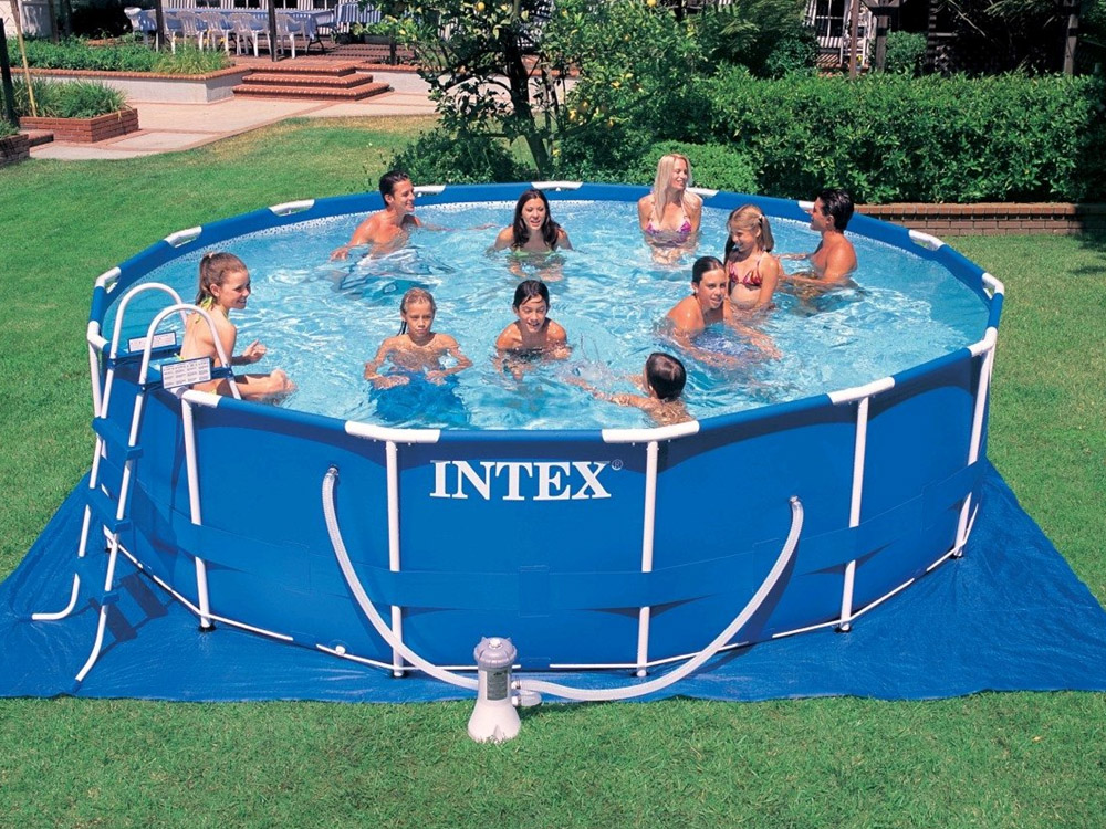 Above The Ground Pools Intex Swimming Pools Photos