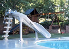 above ground pools with slides