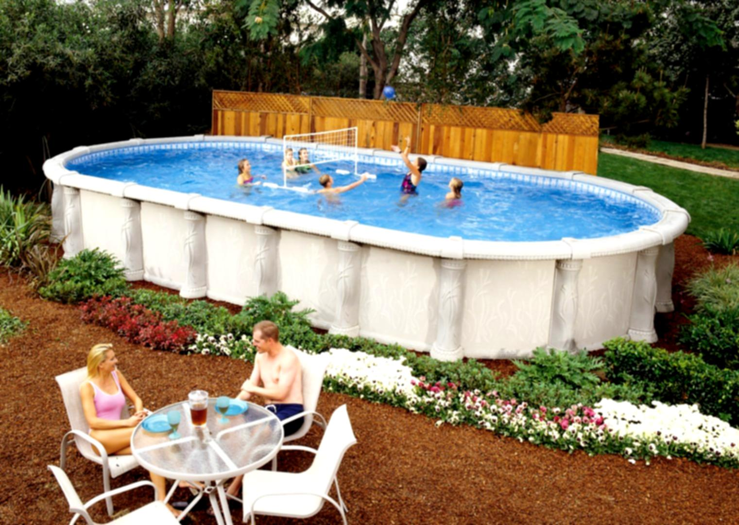 Above ground swimming pool installation companies Above ground pool installation ideas