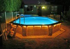 above ground swimming pool installation price
