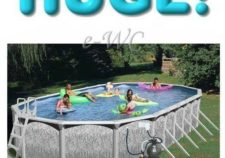 above ground swimming pools ebay