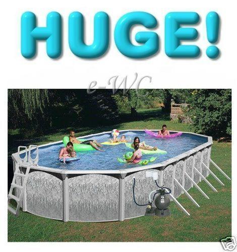 above ground swimming pools ebay