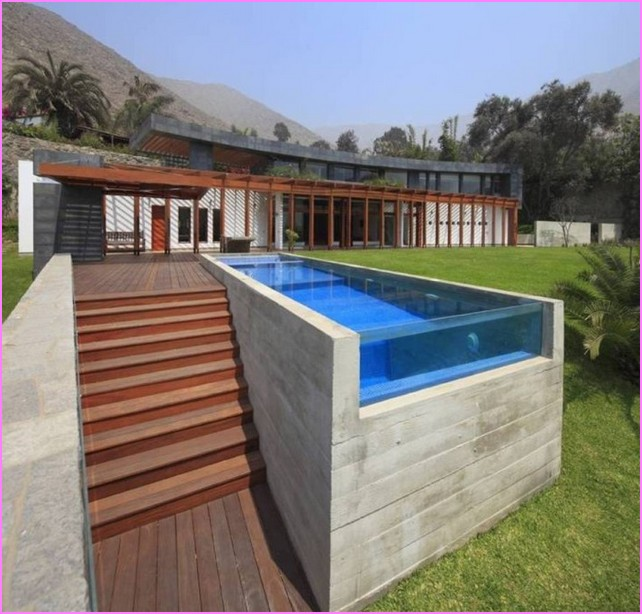 above ground swimming pools ideas