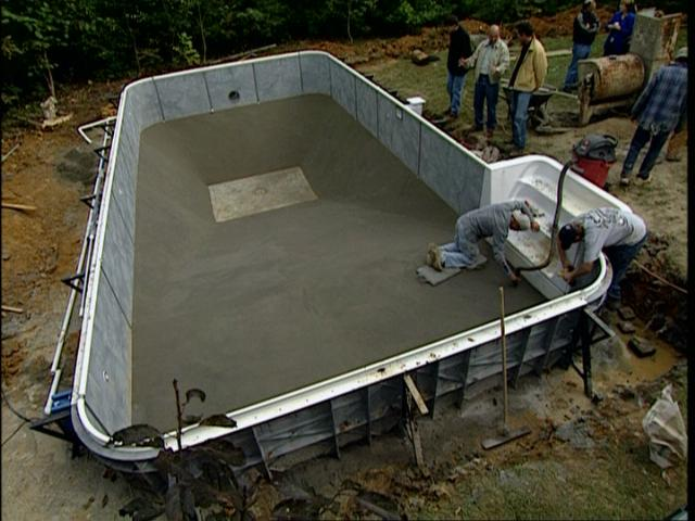 above ground swimming pools installed
