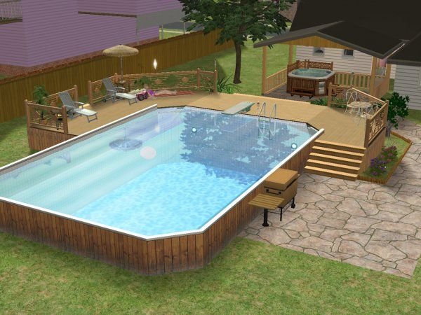 above the ground pools ideas