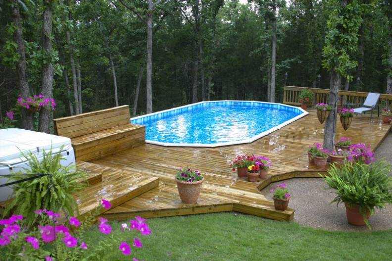 above the ground pools on sale