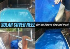 above the ground pools reels for solar covers