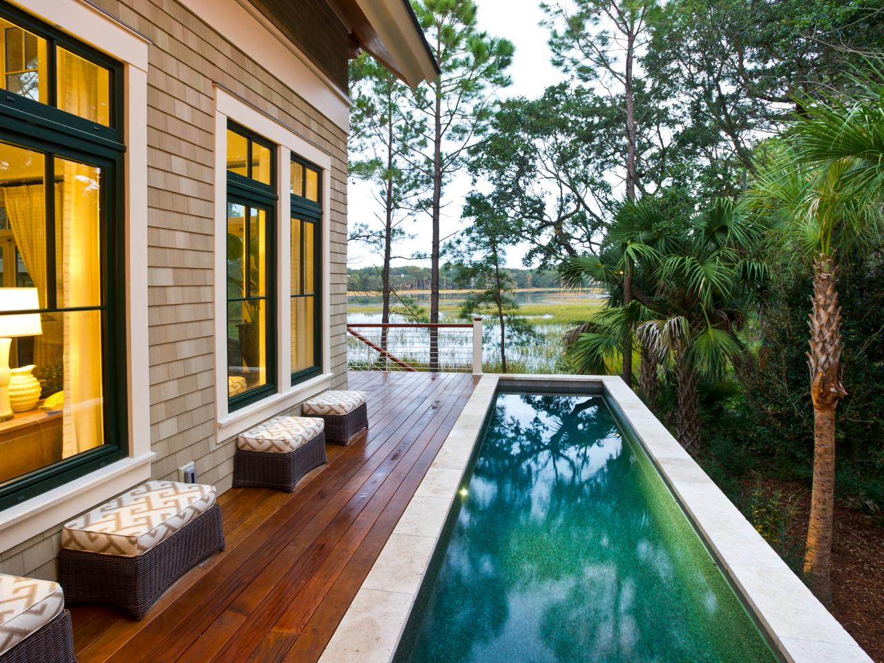 above the ground pools with screened porches