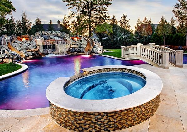 backyard pools & spas