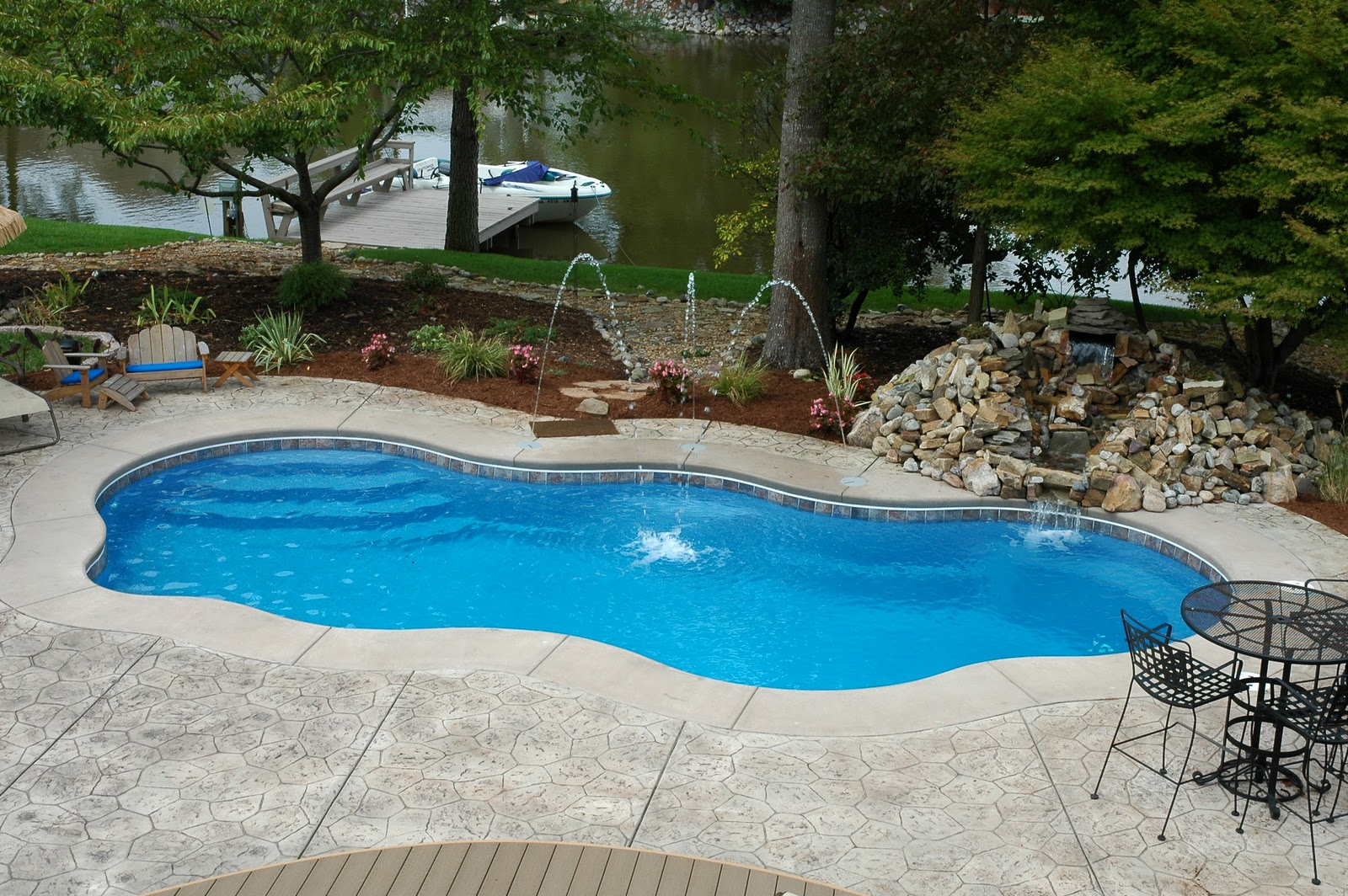 backyard pools images
