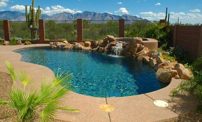 backyard pools tucson az