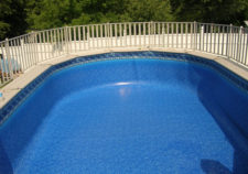 best above ground pool liner