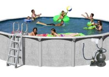 best above ground pool packages