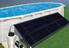 best above ground pool solar heater